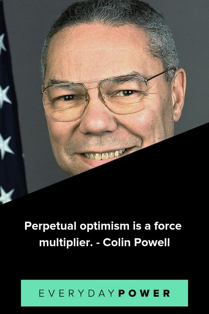 Colin Powell quotes on life and leadership