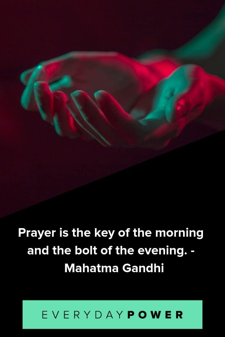 Daily prayer quotes to aid your spiritual journey