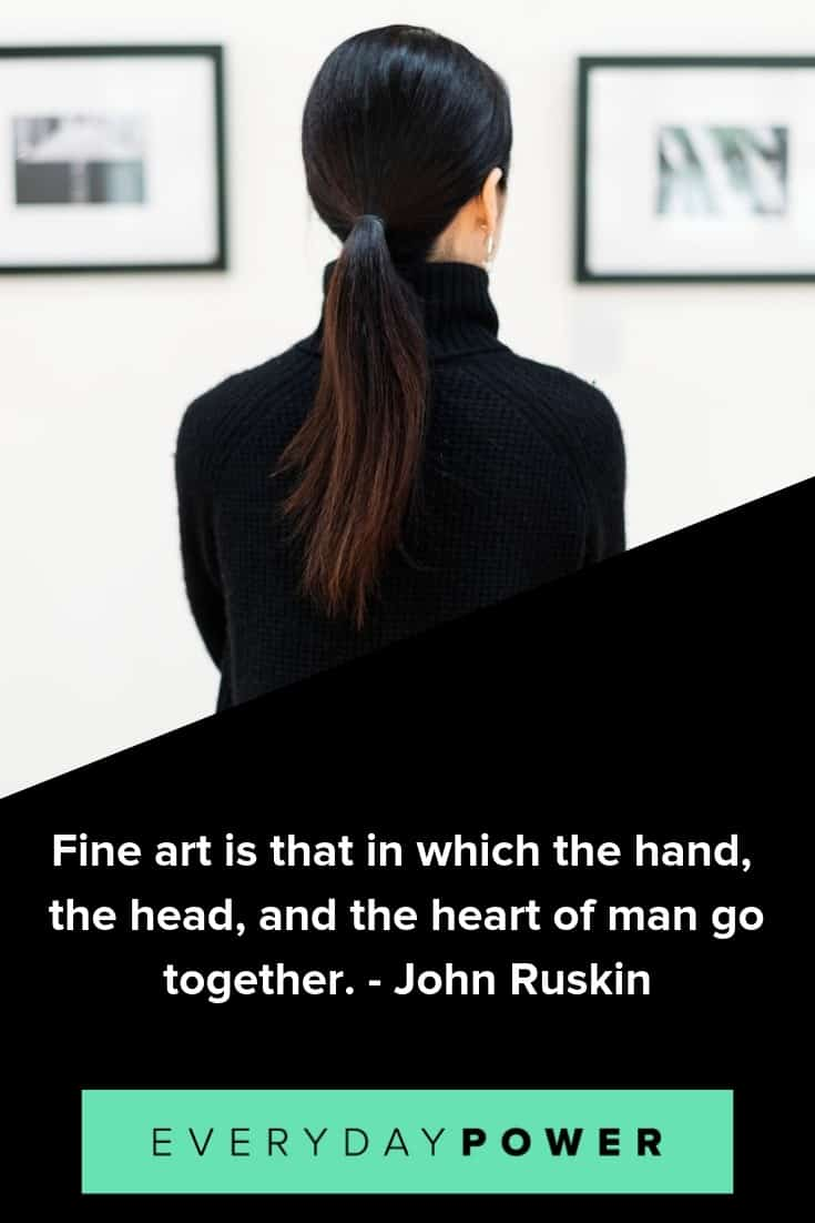 Art quotes on its beauty