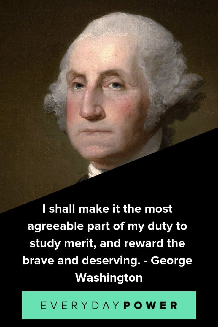 George Washington quotes to inspire and teach