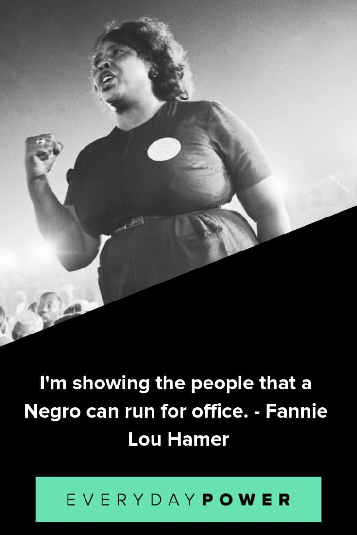 Fannie Lou Hamer quotes that will inspire you to stand for what you believe in