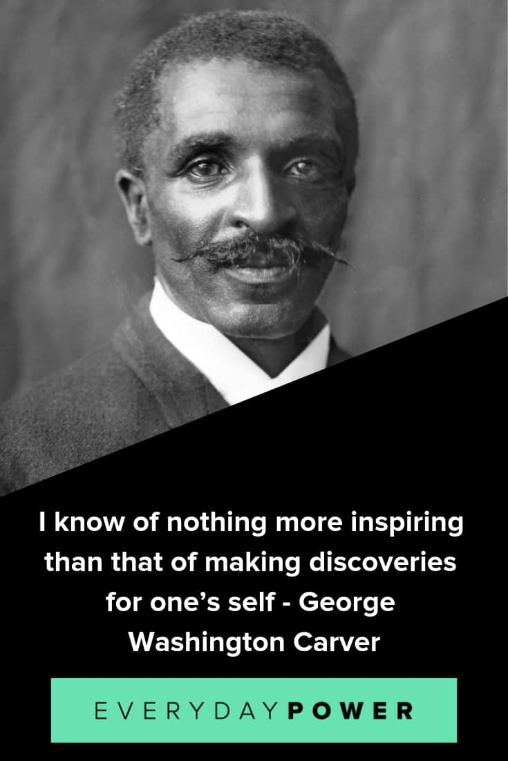 George Washington Carver quotes on education and dreams