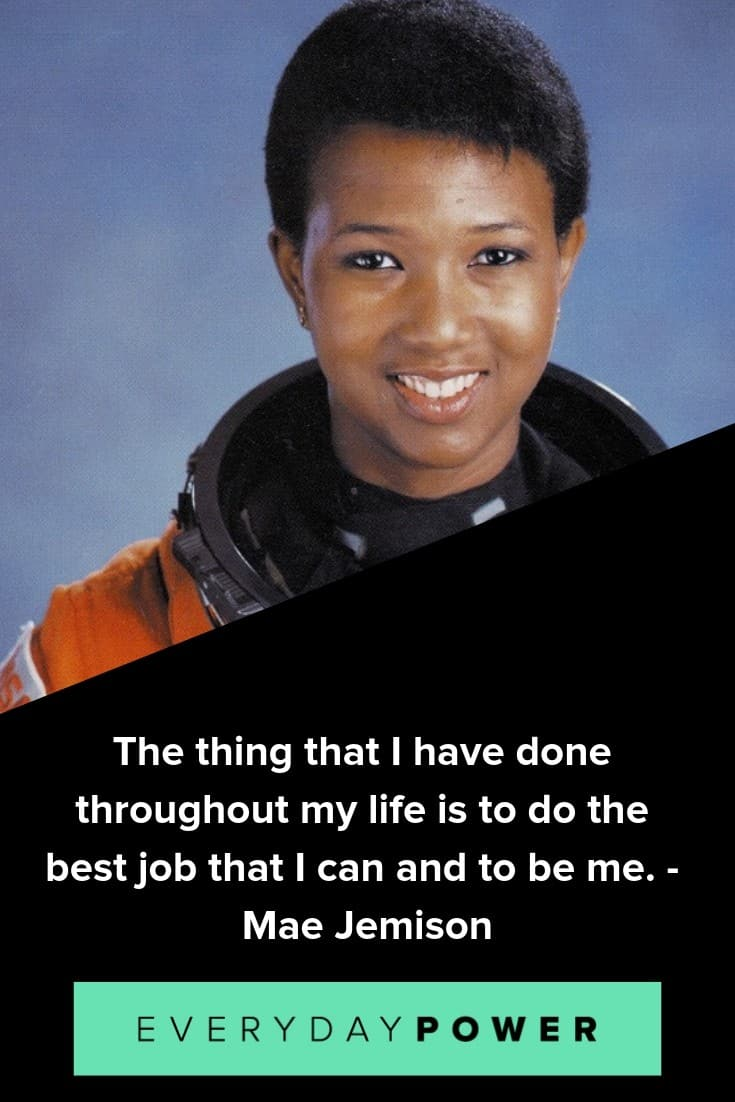 Mae Jemison quotes on breaking societal limits