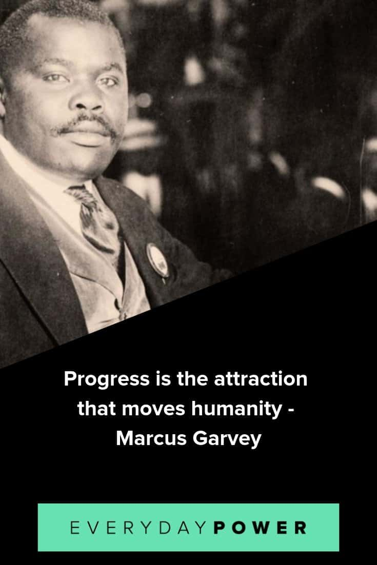 Marcus garvey quotes celebrating knowledge of self