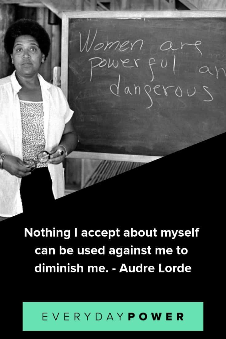 Audre Lorde quotes on finding your voice