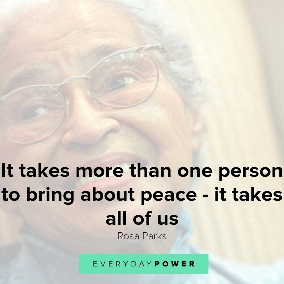 Rosa Parks quotes that will inspire to stand for your rights