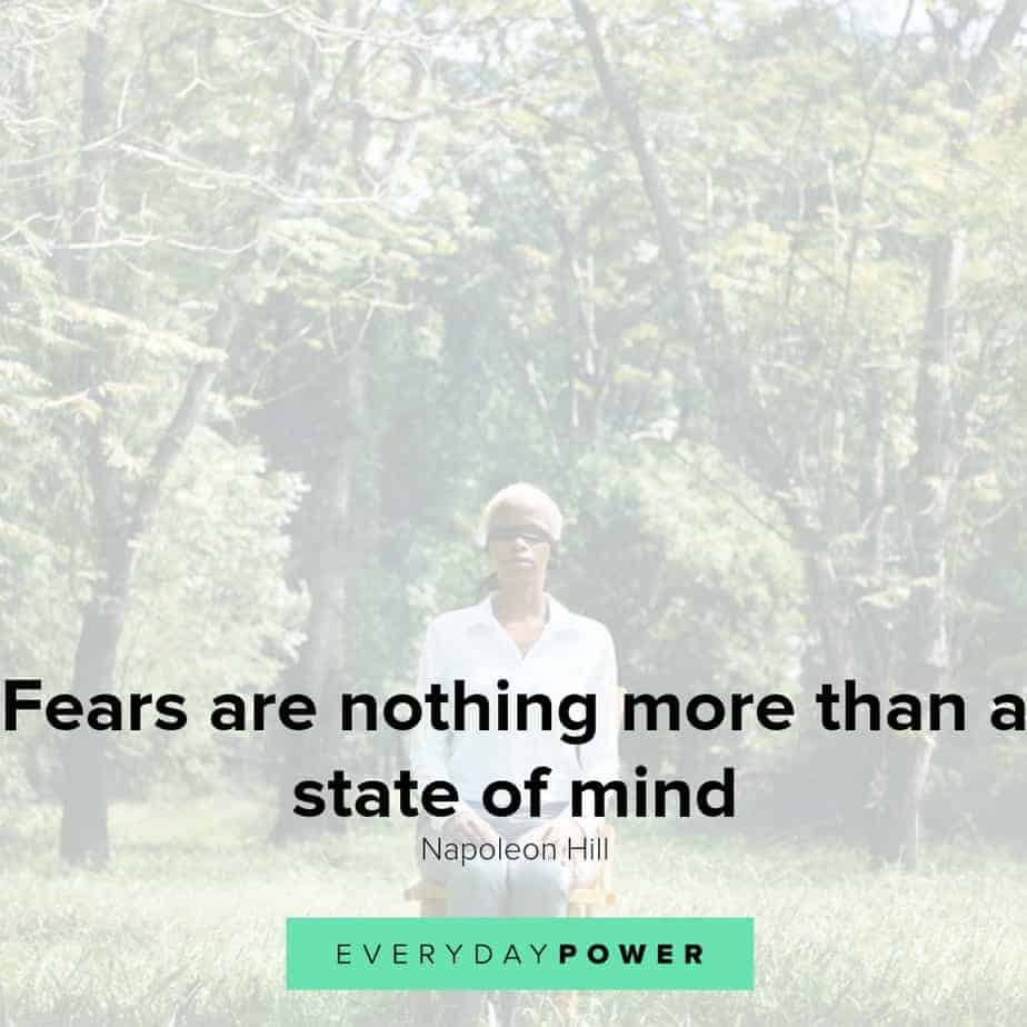 Fear quotes to help you move forward