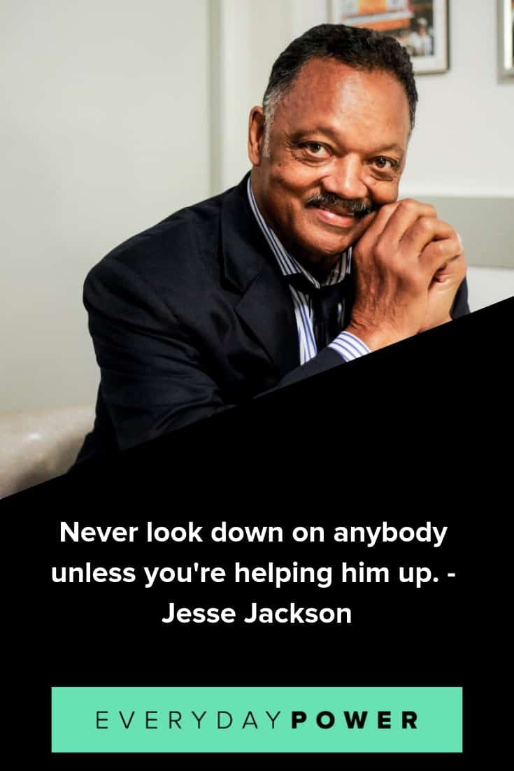 Jesse Jackson quotes that will inspire you to stay positive