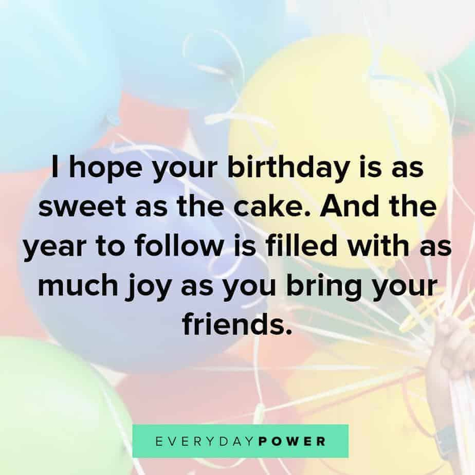 Happy Birthday Quotes to bring joy