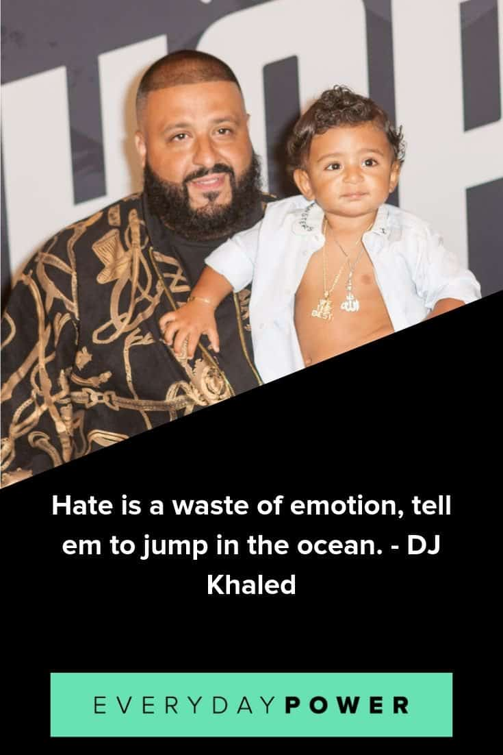 DJ Khaled quotes on never giving up