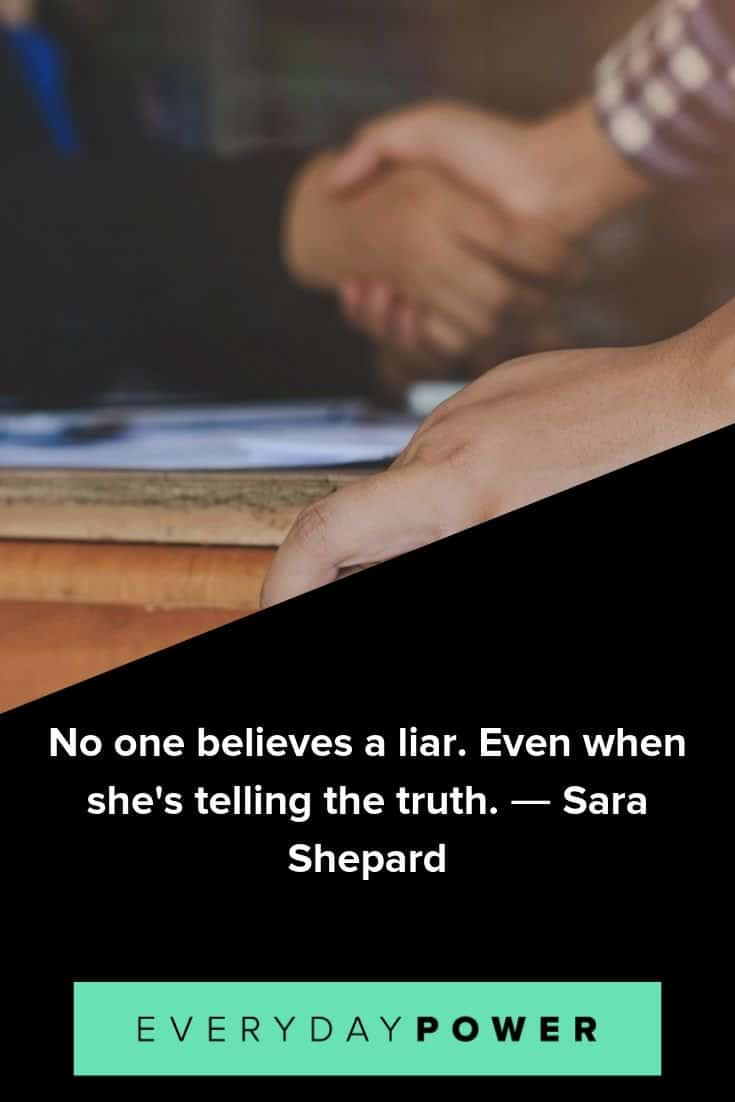 Liar quotes for when you've been taken advantage of