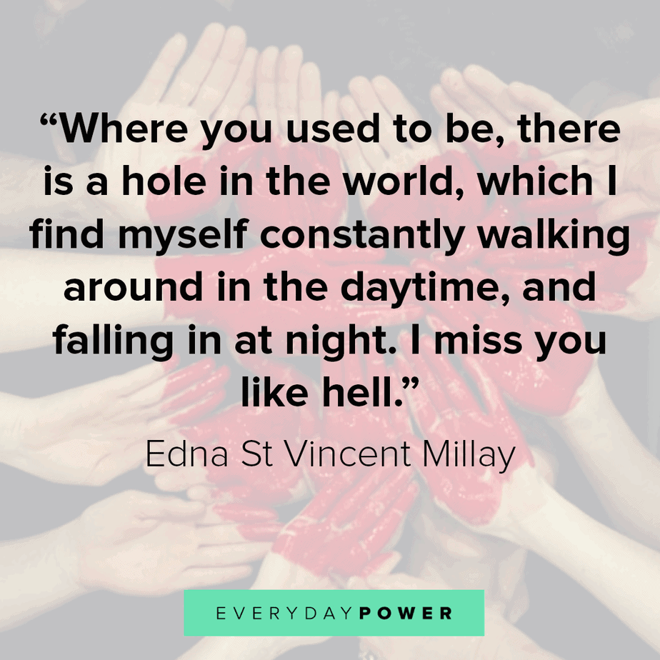 125 I Miss You Quotes For Him And Her Everydaypower