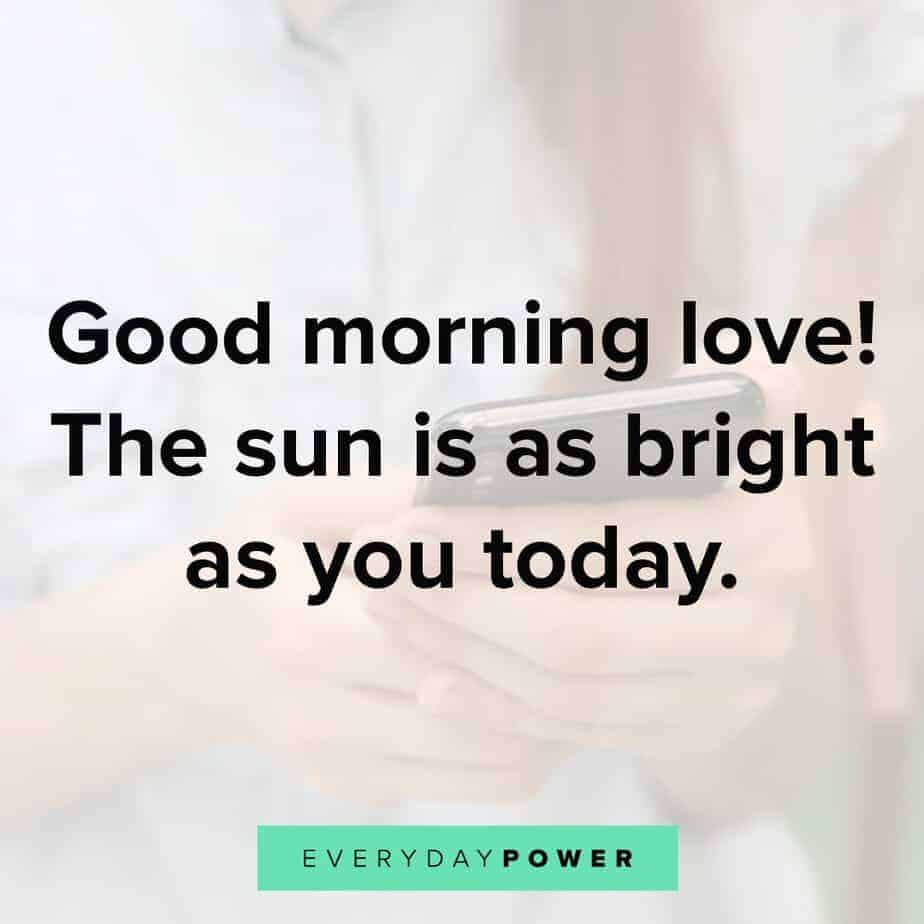 60 Good Morning Text Messages for Her Love (2019) | Cute ...