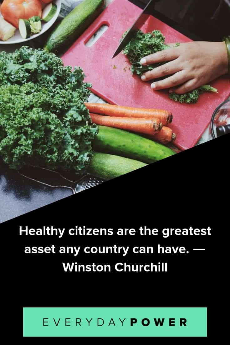 Healthy eating quotes that will give you energy to enjoy your life