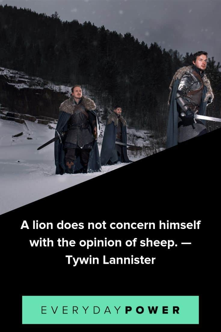 memorable Games of Thrones quotes