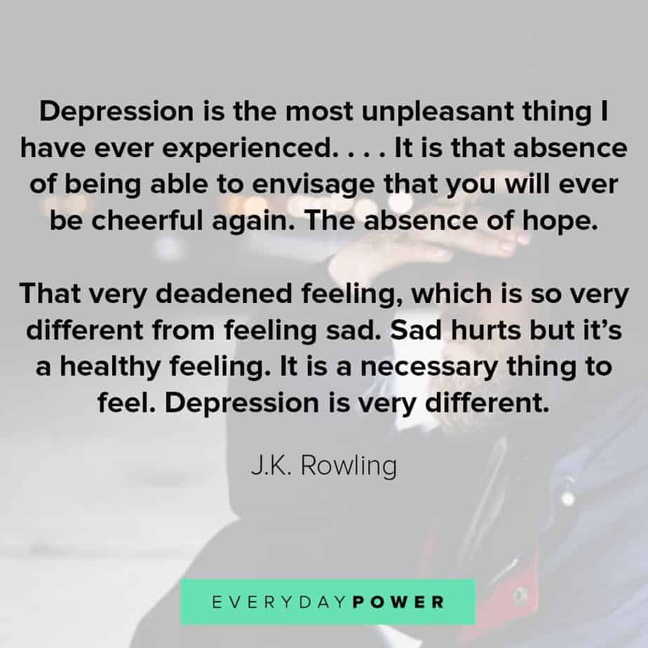 powerful Depression Quotes