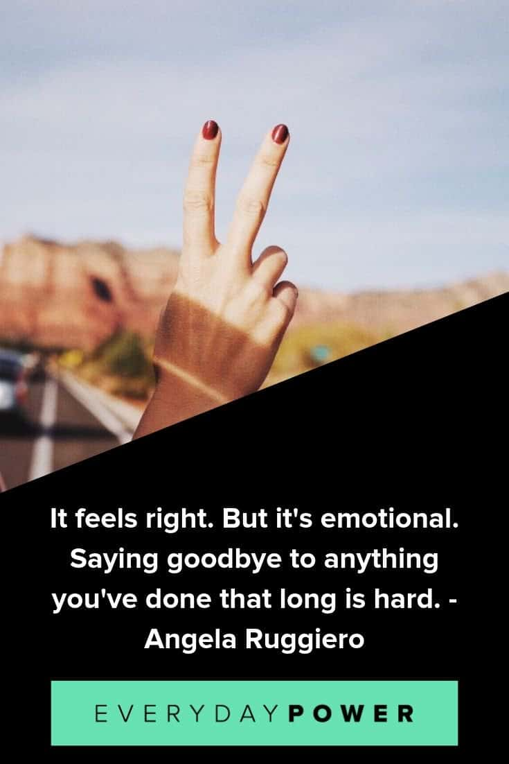 50 Goodbye Farewell Quotes Inspirational Not Forever Sayings