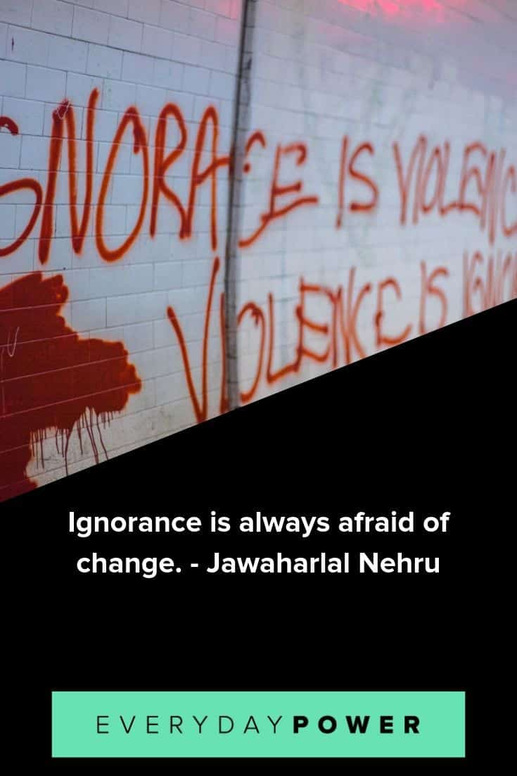 ignorance quotes to inspire and teach