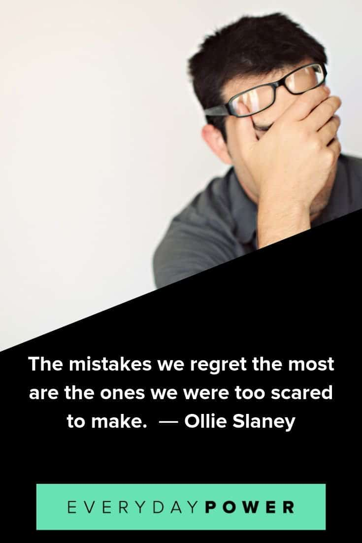 50 Mistake Quotes To Help You Bounce Back (2019)