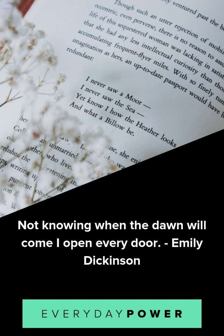 Emily Dickinson quotes that will inspire you to slow down and see the world in a new light