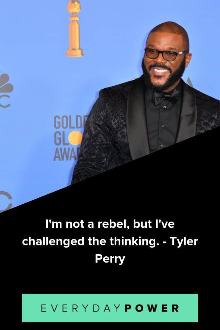 Tyler Perry quotes on determination and reaching goals