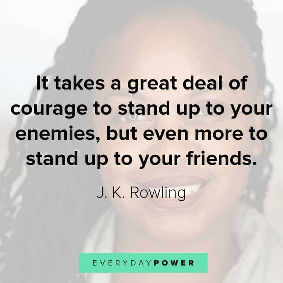 quotes for women on standing up