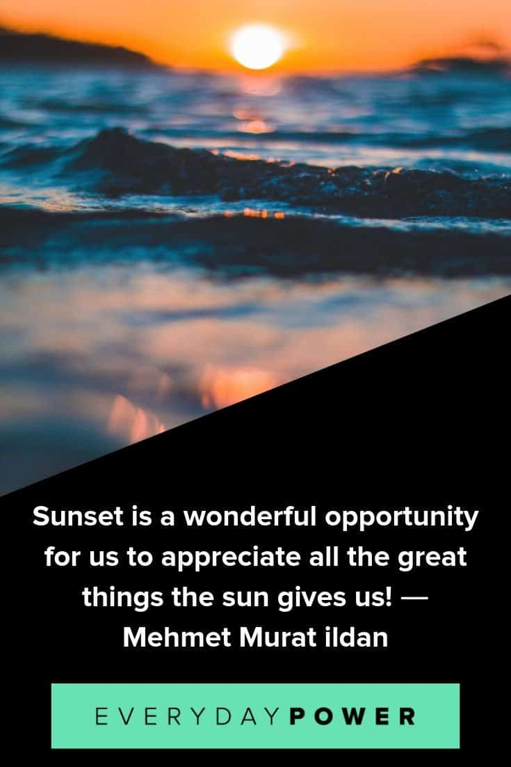 105 Sunset Quotes About Love The Beach Beautiful Sky 2020