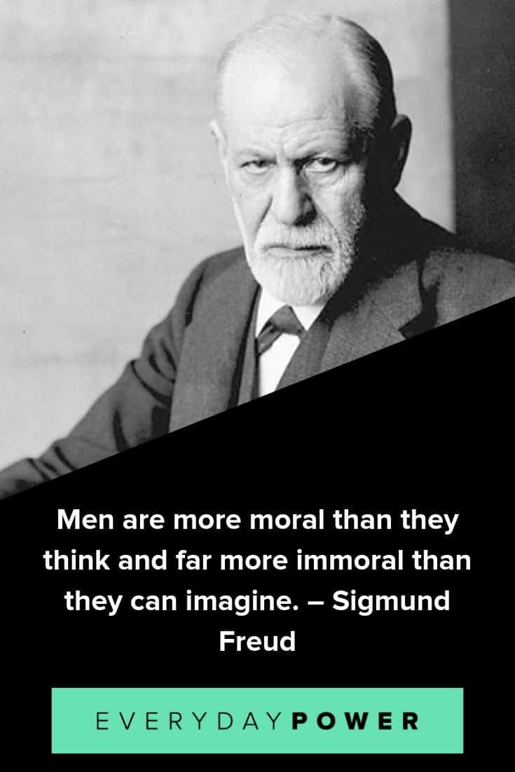 Sigmund Freud quotes to inspire and teach