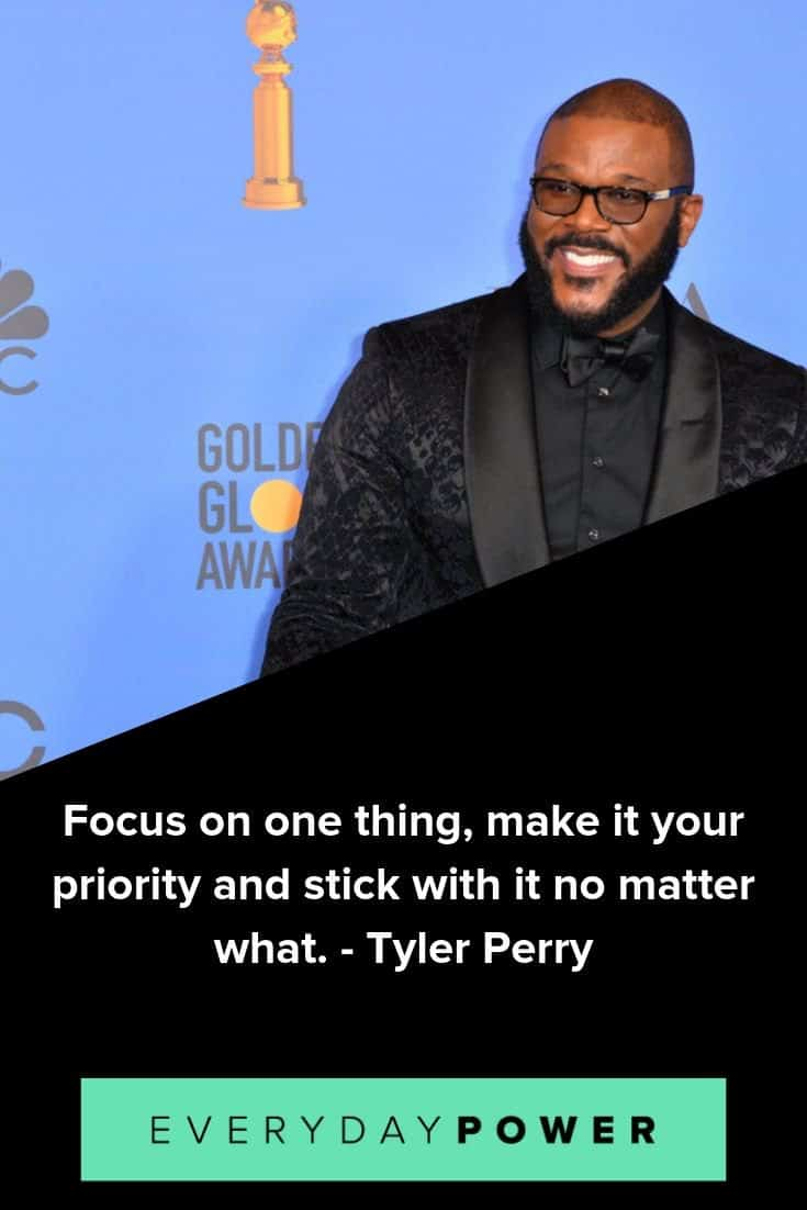 Tyler Perry Quotes on Owning Your Dreams