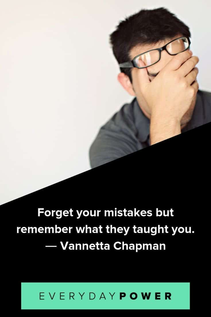 Mistake quotes that will help you make progress in your life