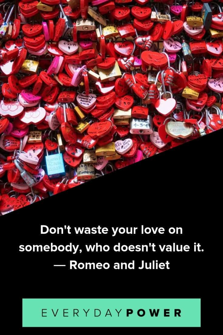 Romeo and Juliet quotes to enrich your day