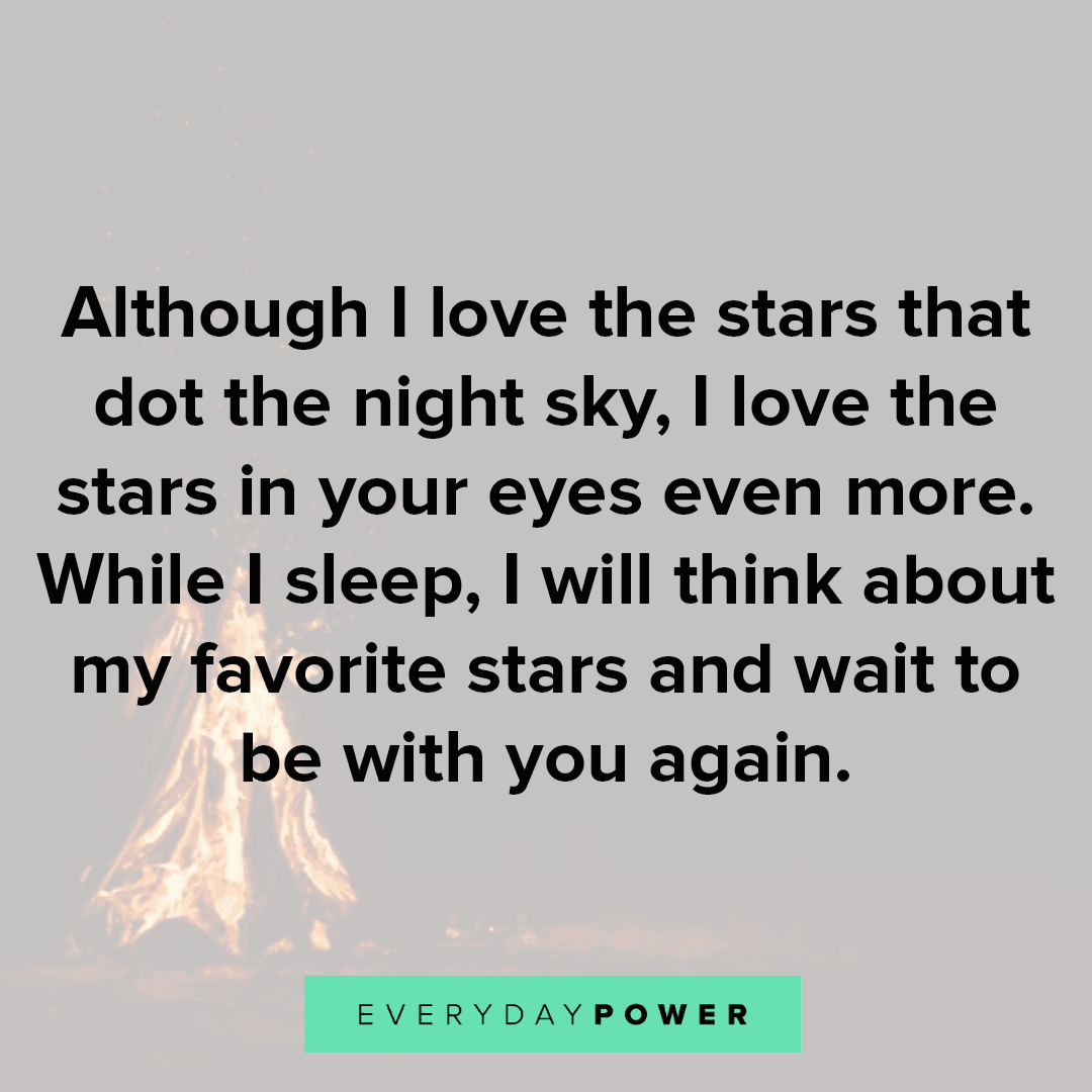 Goodnight Quotes about the stars