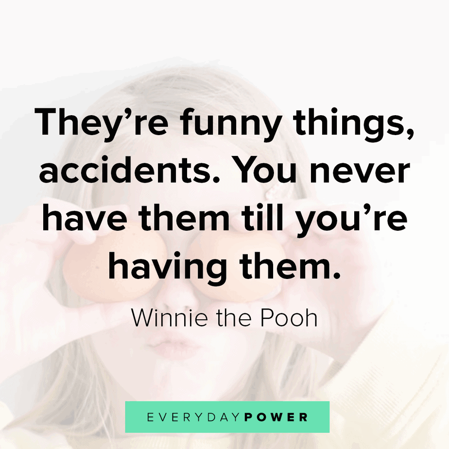 Winnie the Pooh about accidents