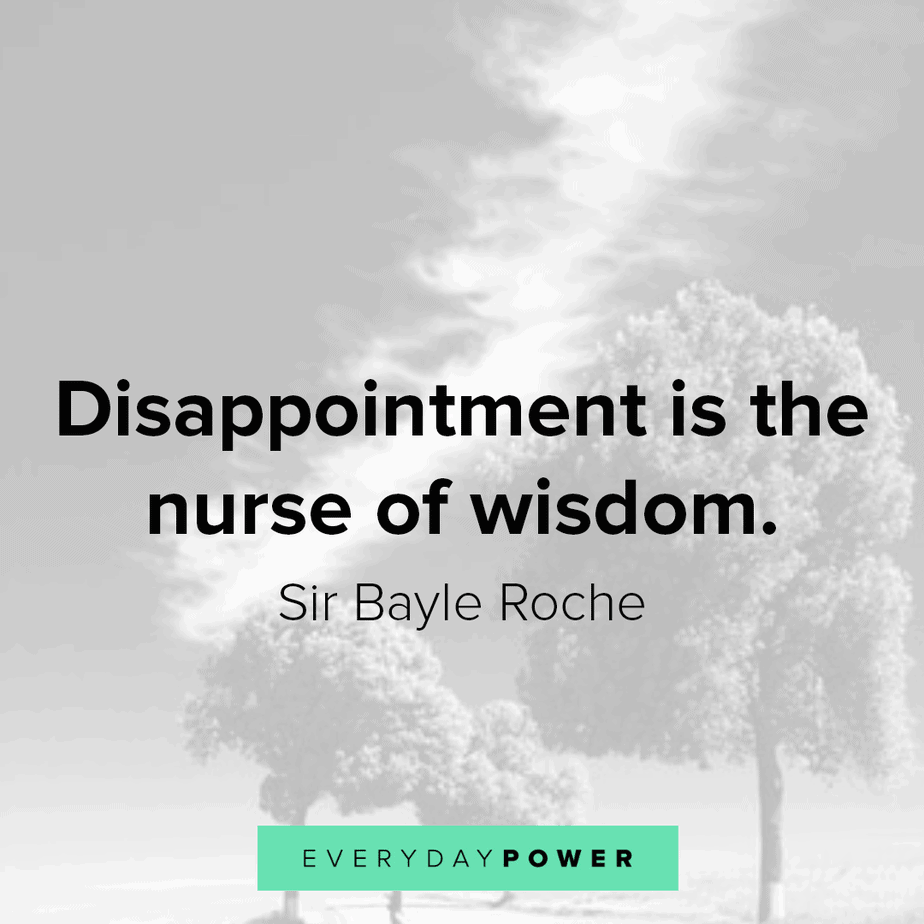 disappointment quotes about wisdom