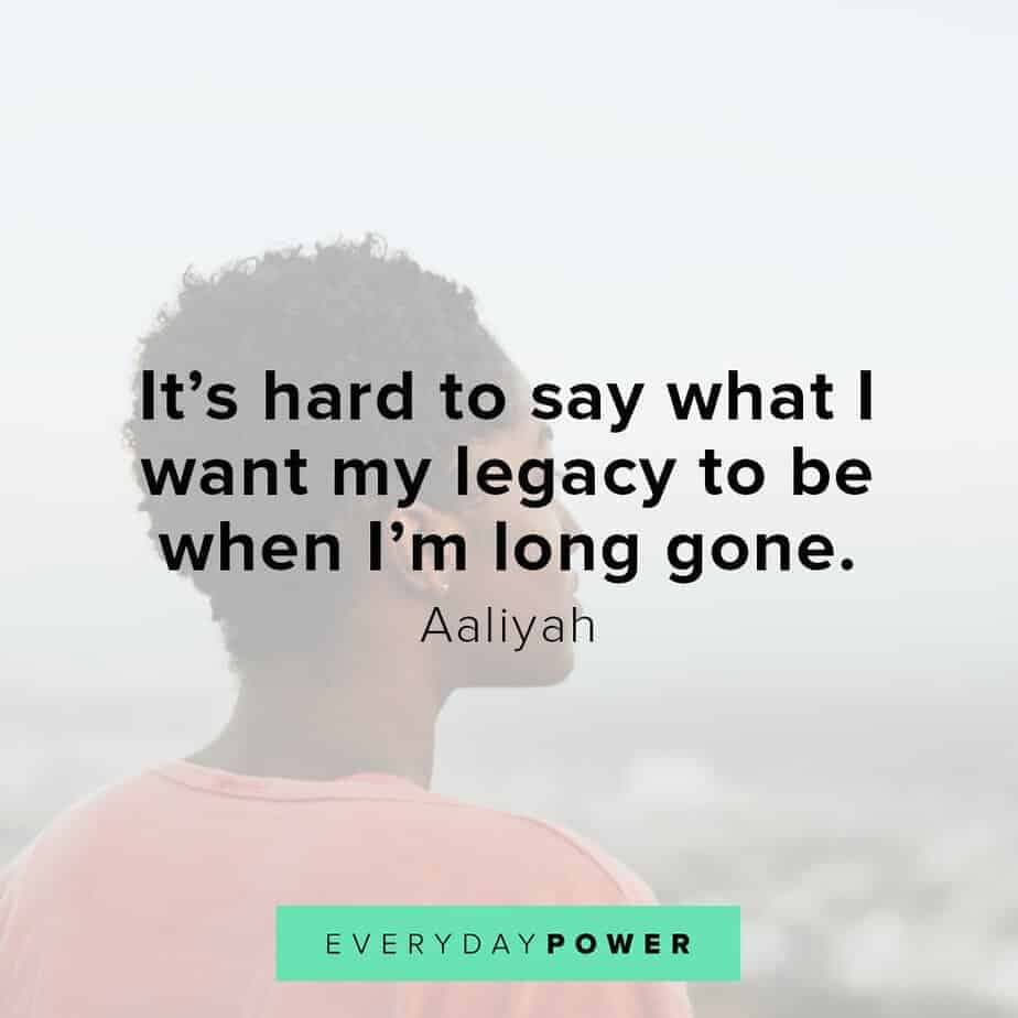 Aaliyah Quotes about family