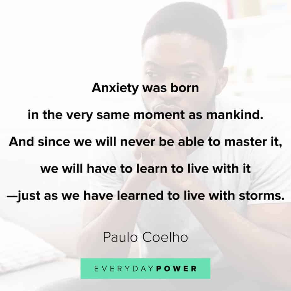 Anxiety Quotes on storms