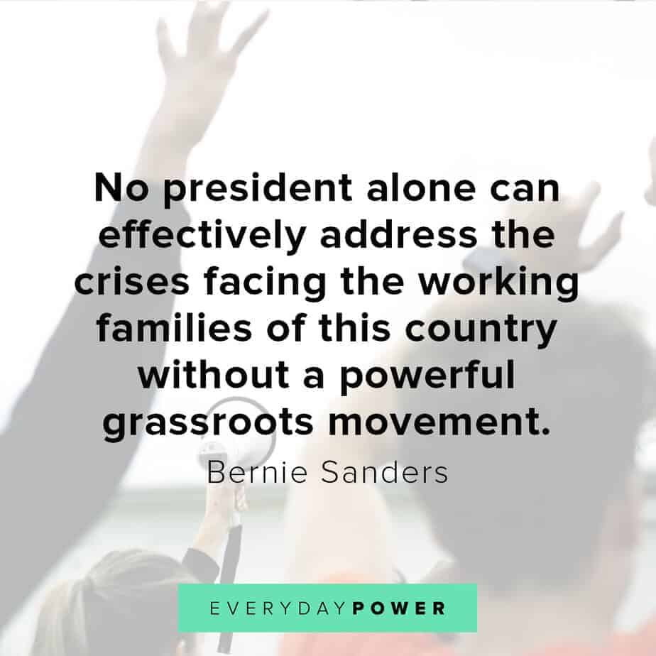 Bernie Sanders quotes on family