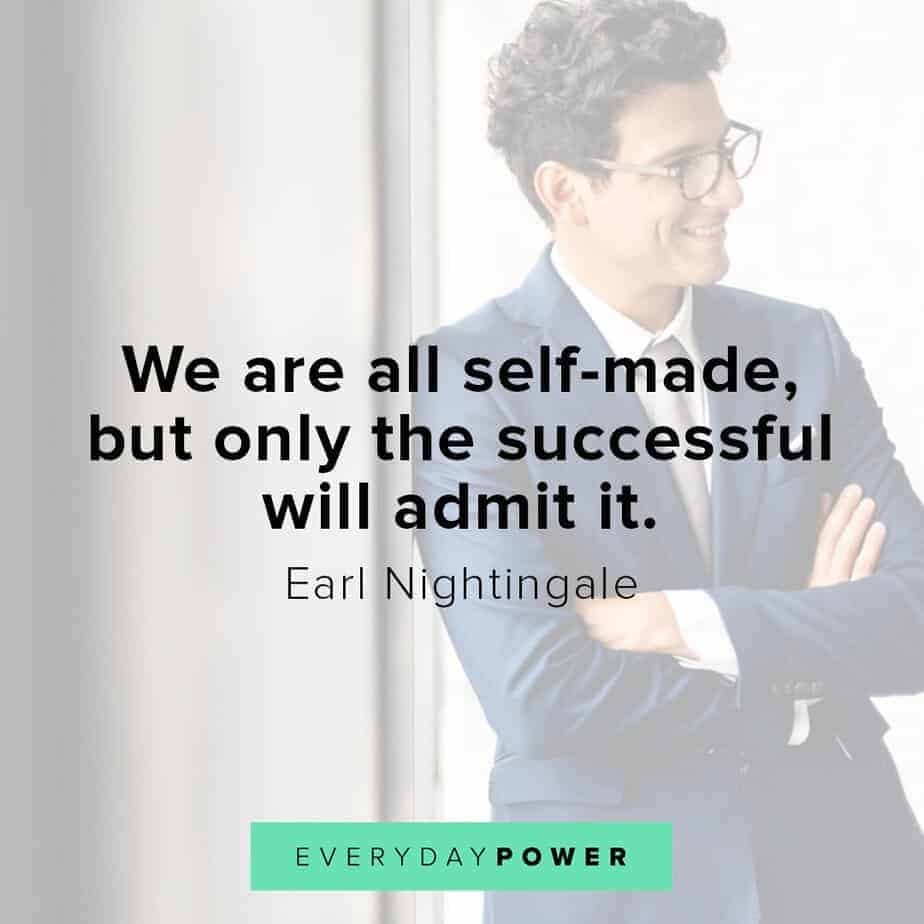 Earl Nightingale Quotes on being successful