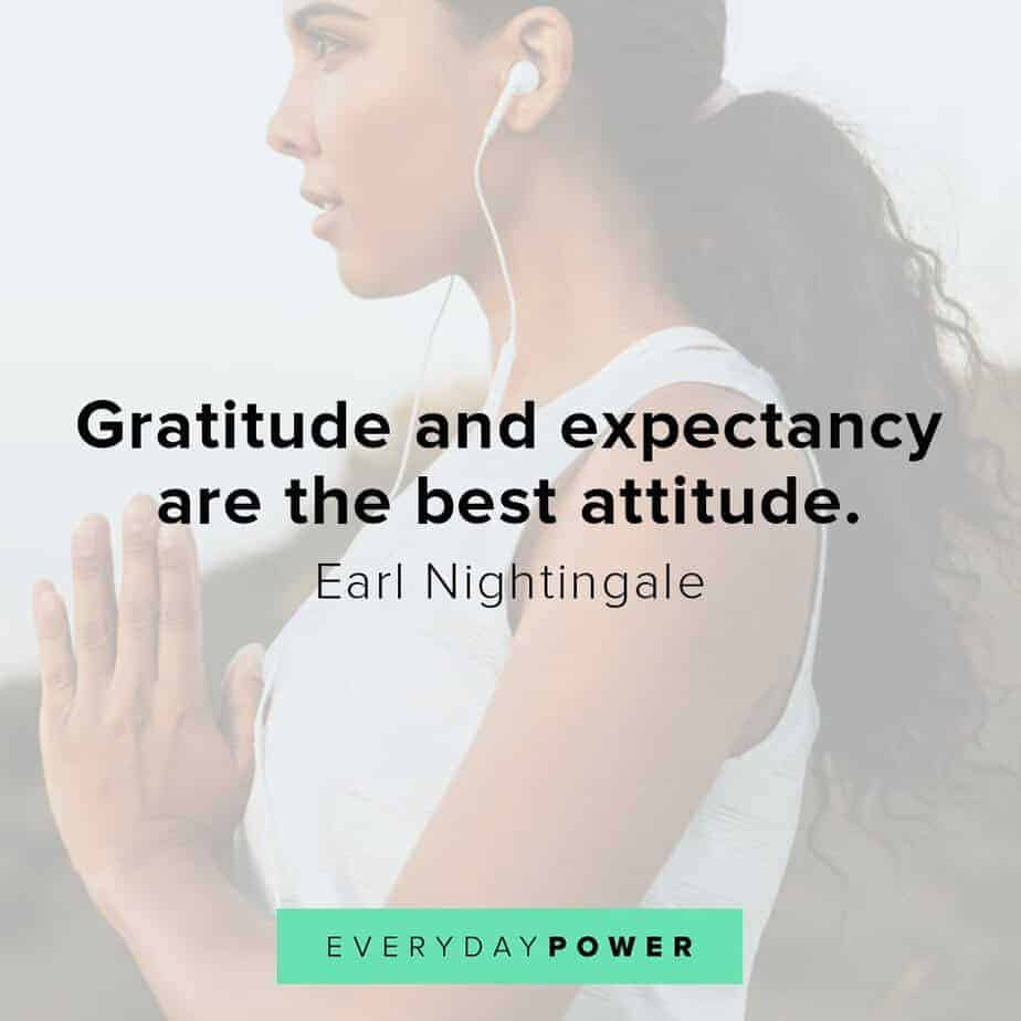 Earl Nightingale Quotes on gratitude