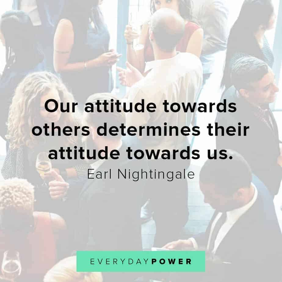 Earl Nightingale Quotes on attitude