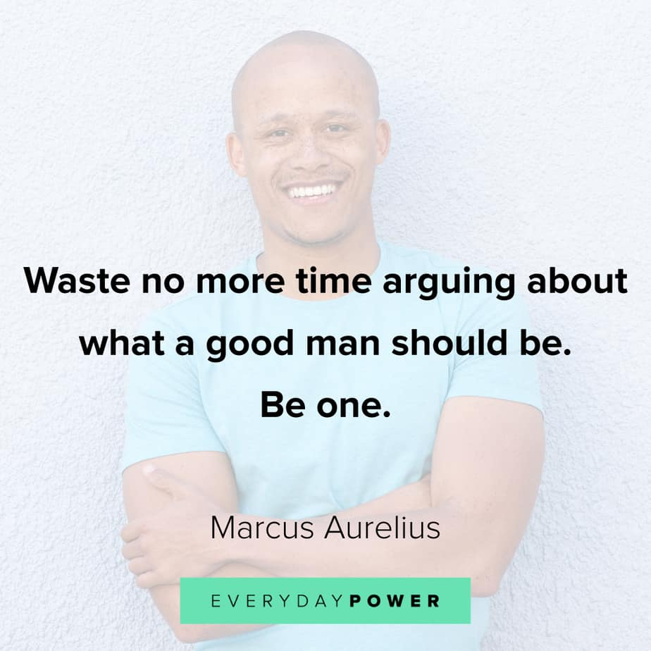 Good Man Quotes about time
