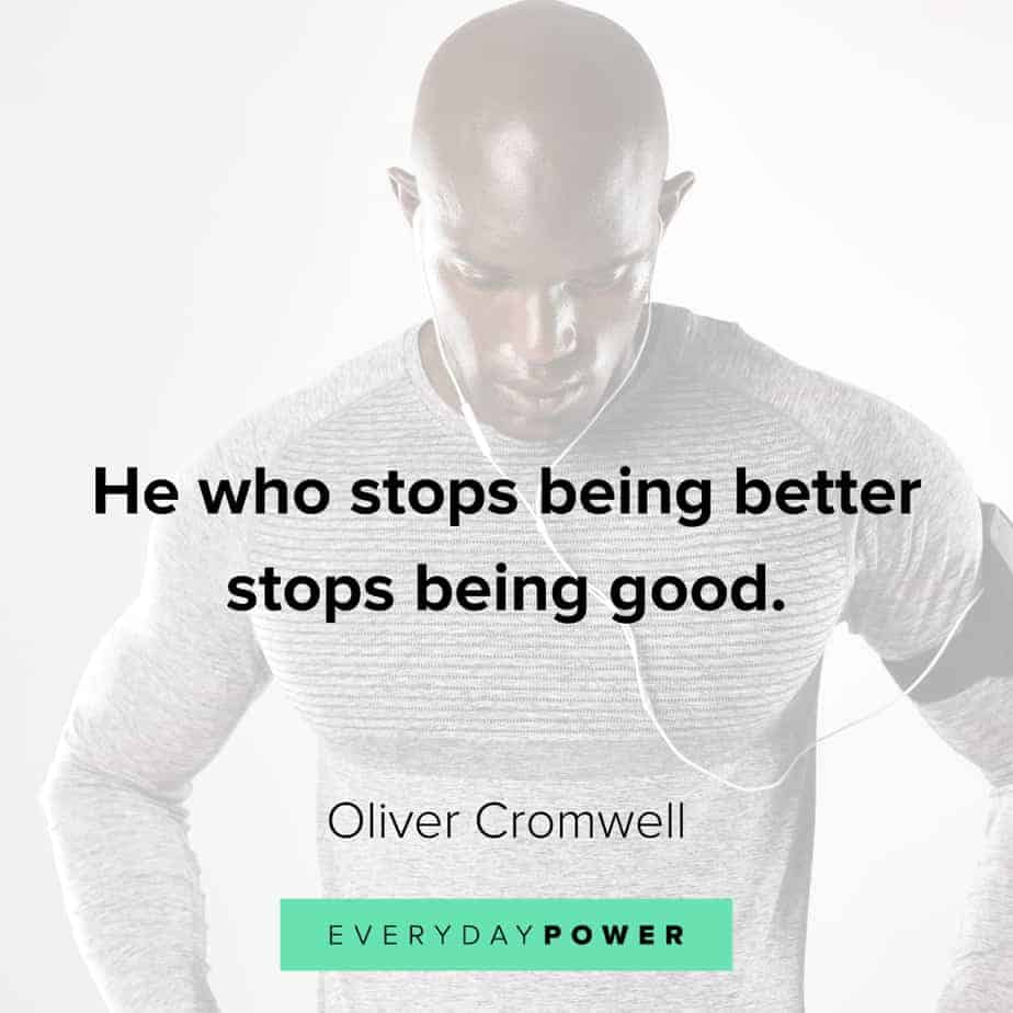 Good Man Quotes on becoming better