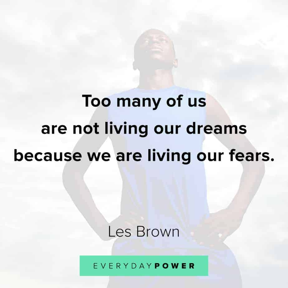 Good Morning Quotes on living dreams