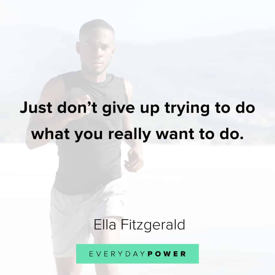 Graduation Quotes on giving up