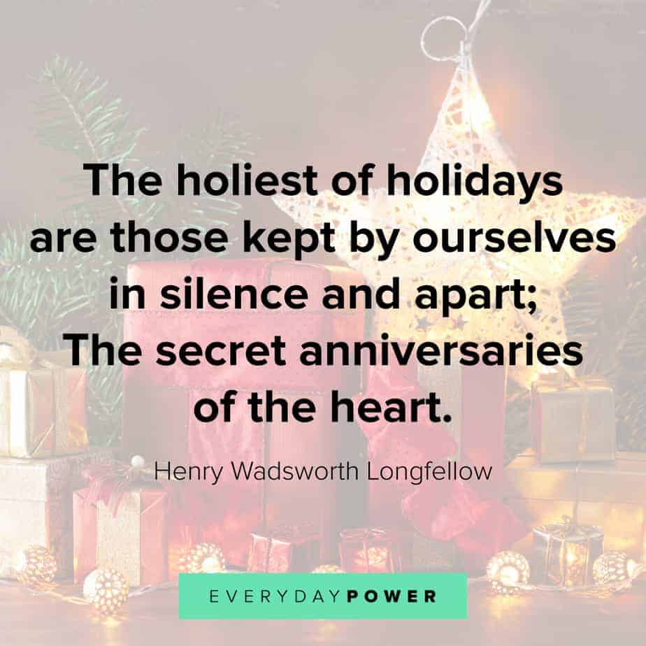 Happy Holidays Quotes on anniversaries