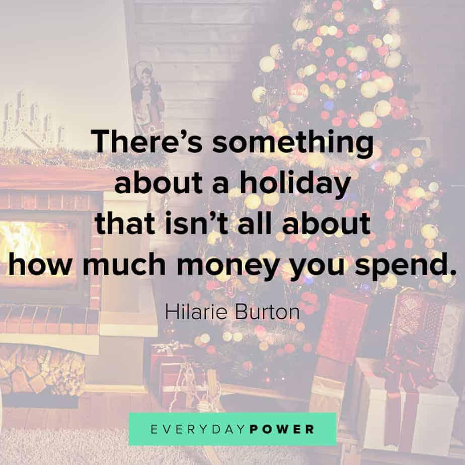 Happy Holidays Quotes about money