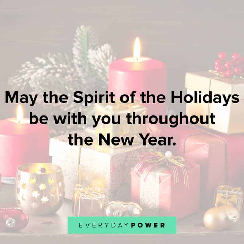 Happy Holidays Quotes for new year