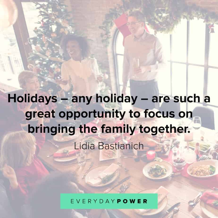 happy holidays quotes that celebrate family and love