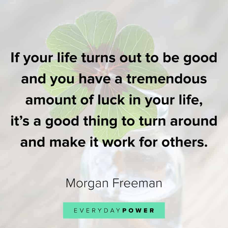 Morgan Freeman Quotes on making it work