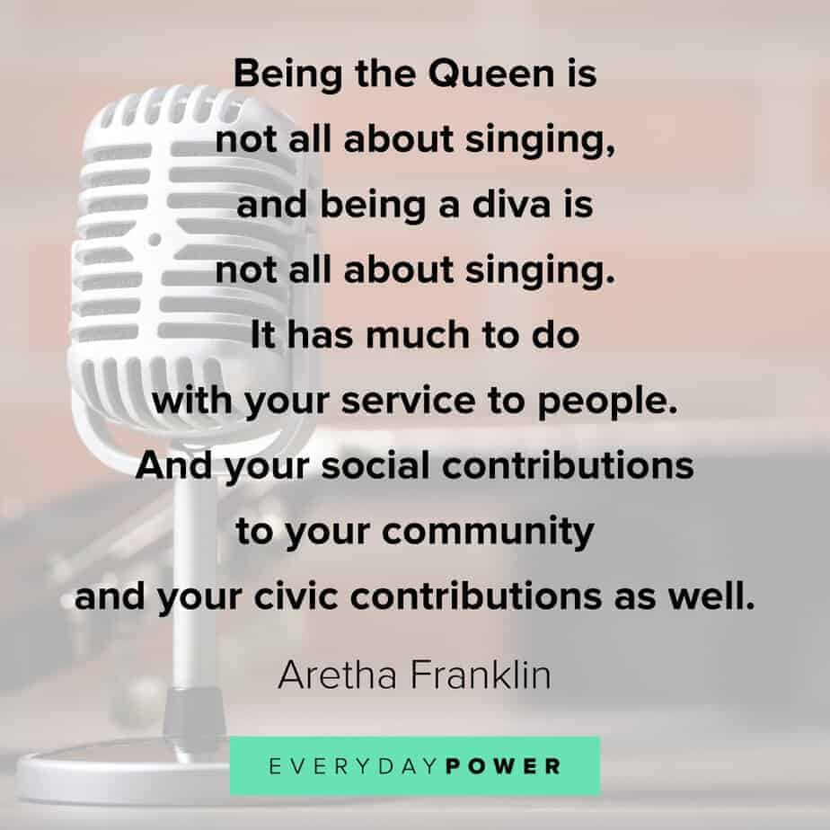 Queen Quotes about service